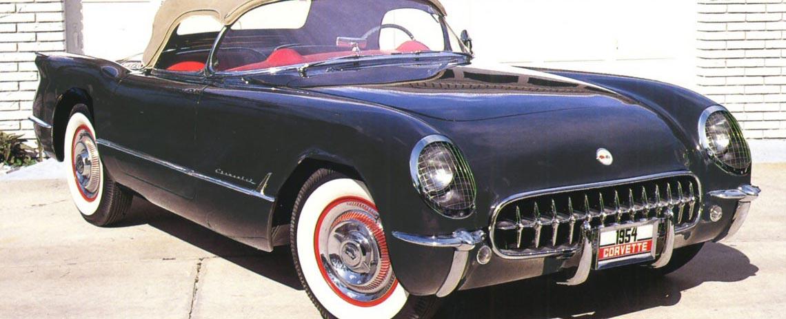 1954 Chevrolet Corvette Parts and Accessories