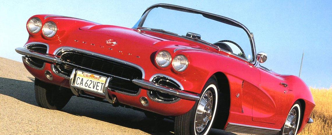 1962 Chevrolet Corvette Parts and Accessories