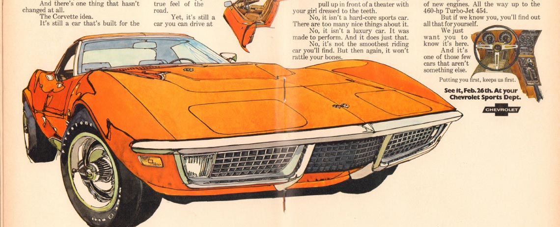 1970 Chevrolet Corvette Parts and Accessories