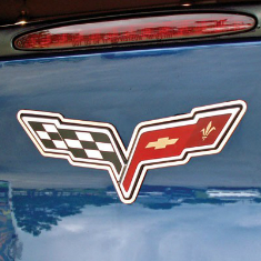 Corvette Emblem & Graphics
