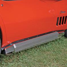 Corvette Side Exhaust Mufflers & Covers