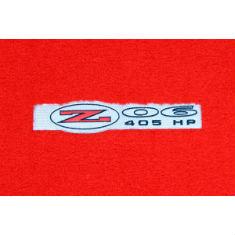 Z06 Logo Floor Mats & Cargo Mats