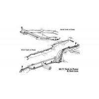 Fuel Lines - Vent & Overflow