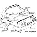 Rear Wheel Housing Panels
