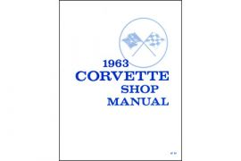 1963 Corvette Shop/Service Manual
