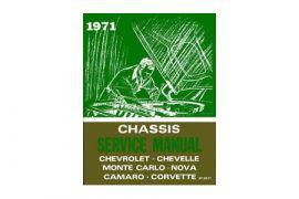 1971 Corvette Shop/Service Manual