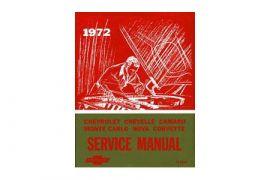 1972 Corvette Shop/Service Manual