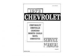 1973 Corvette Shop/Service Manual