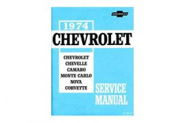1974 Corvette Shop/Service Manual