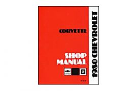 1980 Corvette Shop/Service Manual