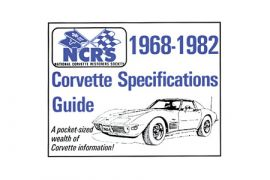 68-82 NCRS Pocket Specifications Guide - New Edition