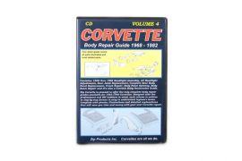 Vol 4: 68-82 Headlight & Rear Body Repair Guide (CD)