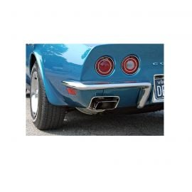 68-73 Rear Bumper Set - Imported (Driver Quality)