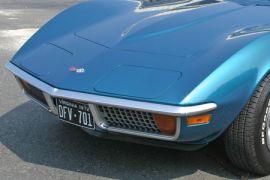 1968-1972 Corvette Front Bumper - Imported Reproduction