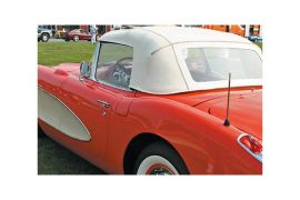 56-58 Convertible Top Vinyl & Pad Kit (Dated)