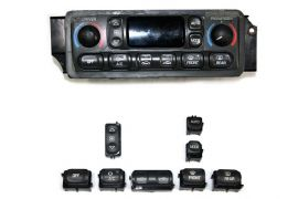 97-04 Heater/AC Climate Control Panel Button Kit