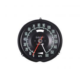 68 Speedometer w/Speed Warning