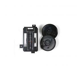 72-75 Heat/AC Control Face Kit