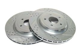 06-13 Z06/GS Power Stop Drilled & Slotted Rear Rotors