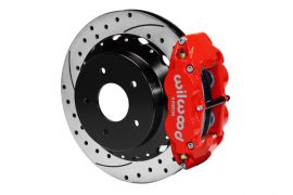 "65-82 Wilwood 12.8"" Rear Superlite 4-Piston Brake Kit w/SRP Rotor"