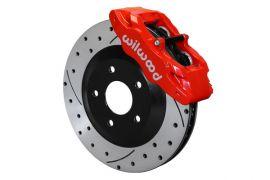 97-13 Wilwood Direct Fit SLC56 Front Brake Package w/Rotors (BrakeColor)