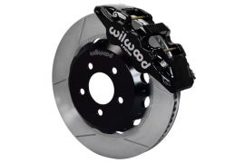 "97-13 Wilwood AERO6 Front Brake Kit w/ 14.25"" GT Rotors In Black"