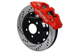 "97-13 Wilwood AERO6 Front Brake Kit w/ 14.25"" SRP Rotors In Red"