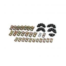 74-82 Fuel & Brake Line Clip & Bolt Kit (Correct Reproduction)