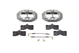 65-82 D8-4 Wilwood Aluminum Rear Brake Kit (Natural)
