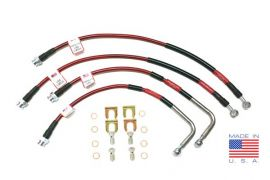 14-19 Stainless Brake Hose Set (Colors)