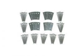 56-62 Door Panel Screw Repair Kit