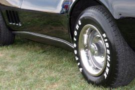 1968-1969 Corvette Rocker Lower Fiberglass Molding