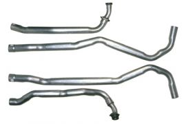 "1968 327 & 1972-1974 350 Auto Corvette 2-2 1/2"" Exhaust Pipe Set"
