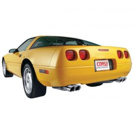 90-95 ZR1 Corsa Performance Exhaust System w/3.5in Black PVD Tips