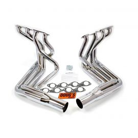 65-74 427/454 Doug's Headers Side Mount Exhaust Header - Polished Stainless