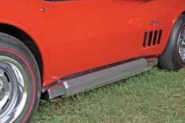 1968-1974 Corvette 327/350 Side Exhaust Package (Reproduction Covers)