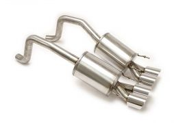 """05-08 BBE PRT Exhaust System - 4"""" Round Tips"""