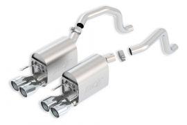 2009-2013 Corvette LS3 BORLA S-Type II Exhaust System w/Round Tips (New Design)