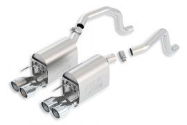 2009-2013 Corvette LS3 BORLA ATAK Exhaust System w/Round Tips (New Design)