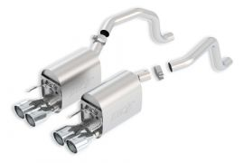 2005-2008 Corvette LS2/LS3 BORLA S-Type II Exhaust System w/Round Tips (New Design)