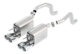 2005-2008 LS2/LS3 BORLA ATAK Exhaust System w/Round Tips (New Design)