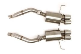 14-19 LT1 & 17-19 GS w/Auto BBE Fusion Exhaust System - 4in Round Tips (NPP Option)