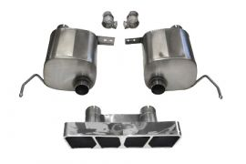 14-18 Corsa Xtreme Valve Back Exhaust System w/Polygon Tip (Default)
