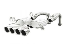 """14-18 Magnaflow Axle-Back Exhaust System w/4.5"""" Quad Tips (Default)"""
