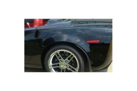 2005-2013 Corvette Conv Z06 Style Rear Fenders (Smooth Fiberglass)