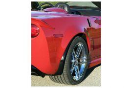 06-13 Cpe Z06 Style ACI Replacement Rear Quarter Panels (Hand Laid)