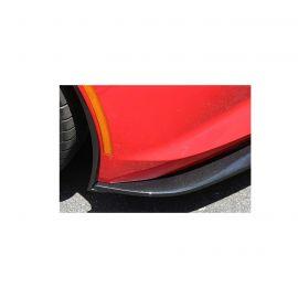 Installed Front Splitter Side Deflectors (Style)