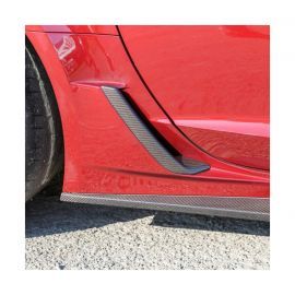 15-19 Z06/GS ACS Brake Scoop Covers (Hydro Carbon Fiber)
