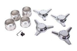 73-82 Aluminum Wheel Spinner Kit (Straight Ear)