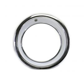 69-82 15x8 Rally Wheel Trim Ring (Stainless)